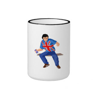 British Soccer Fan Coffee Mug