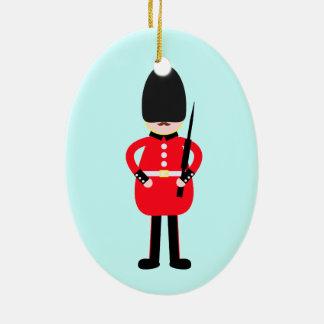 British Soldier Ceramic Ornament