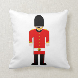 British Soldier/Union Jack Cushion