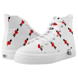 British Soldier Zipz High Top Shoes