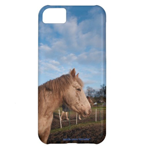 British spotted pony case for iPhone 5C