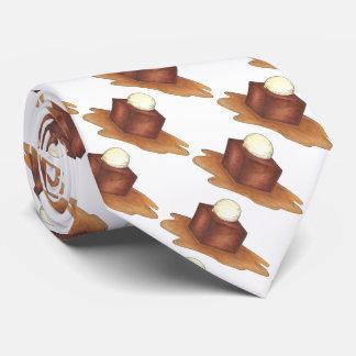 British Sticky Toffee Pudding English Dessert Tie