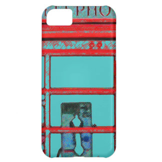 British style telephone booth iPhone 5C covers