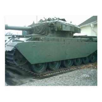 British Tank Postcard