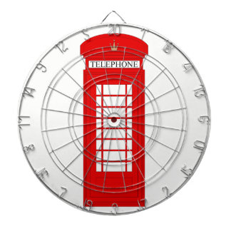 British Telephone Box Dartboard