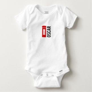 British Telephone Box Gerber Baby Vest Baby Onesie