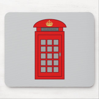 British Telephone Box Mouse Pad