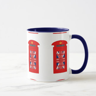 British Telephone Box Mug