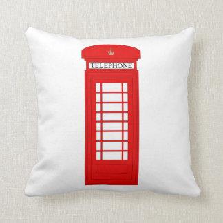British Telephone Box/Union Jack Cushion
