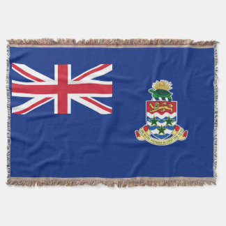 British Territory Cayman Island Flag Throw Blanket