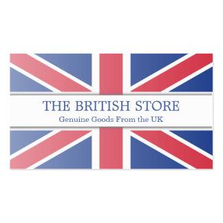 British / UK Flag Customizable Business Card