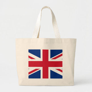 British - UK - Great Britain - Union Jack flag Tote Bag