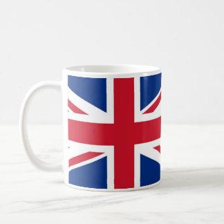 British - UK - Great Britain - Union Jack flag Basic White Mug
