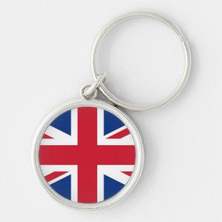 British - UK - Great Britain - Union Jack flag Key Chains