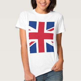 British - UK - Great Britain - Union Jack flag Tees