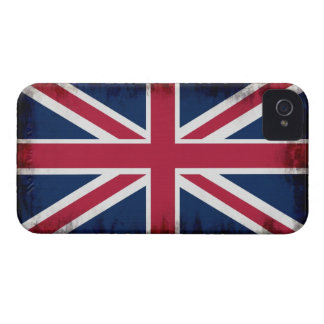 British Union Flag Union Jack Patriotic Design iPhone 4 Cover