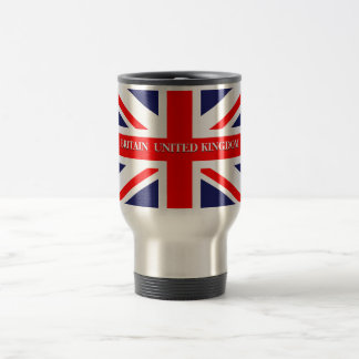British Union Jack Britain London flag Travel Mug