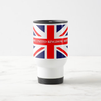 British Union Jack Britain London flag Travel Mug