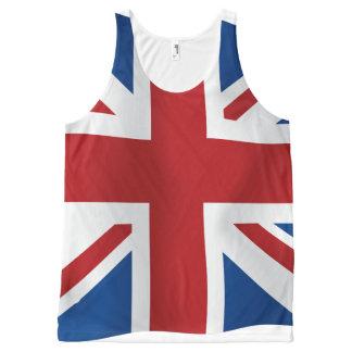British Union Jack flag All-Over Print Singlet