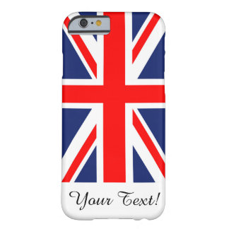 British Union Jack Flag Barely There iPhone 6 Case