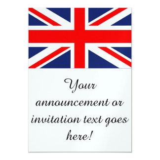 British Union Jack Flag Card