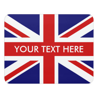 British Union Jack flag custom door room sign