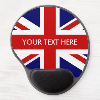 British Union Jack flag custom gel mouse pad