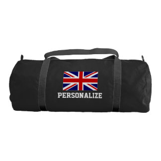 British Union Jack flag duffle gym bag | Customize