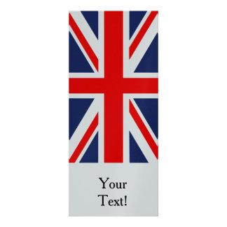 British Union Jack Flag Custom Invitation