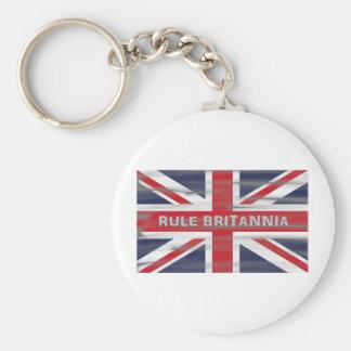British Union Jack Flag Keychains