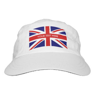 British Union Jack flag knit and woven sports hats