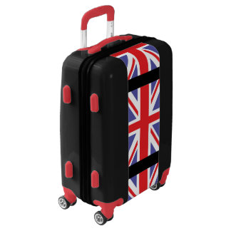 British Union Jack Flag Luggage
