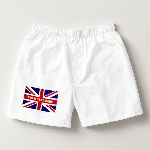 85f887c8e1 British Union Jack flag mens boxer short underwear Boxers