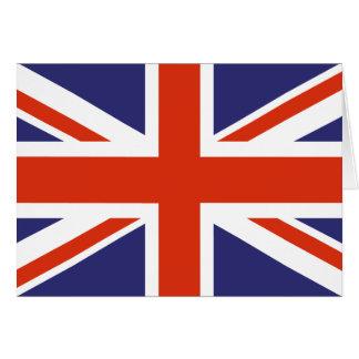 British Union Jack Flag Note Cards