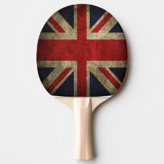 British Union Jack Flag of England Table Tennis Ping Pong Paddle
