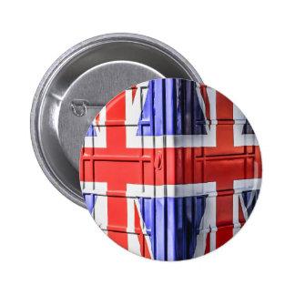 British Union Jack Flag Phone Box Pins