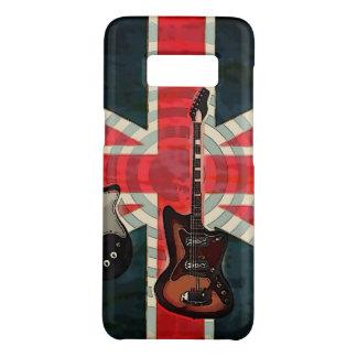 British Union Jack Flag Rock Roll Electric Guitar Case-Mate Samsung Galaxy S8 Case
