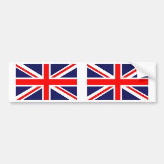 British Union Jack UK Flag Bumper Sticker