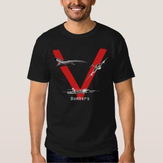 British V Bombers Tshirts