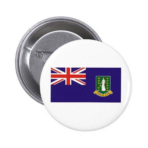 British Virgin Islands Pinback Button