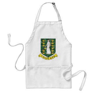 British Virgin Islands Coat Of Arms Aprons