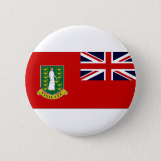 British Virgin Islands Flag 6 Cm Round Badge