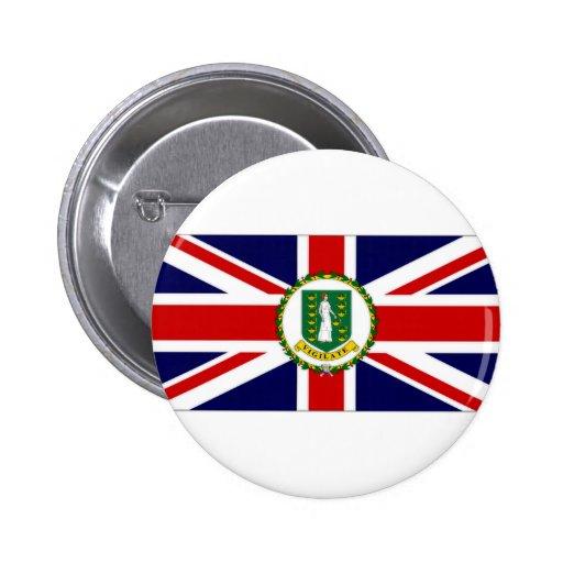British Virgin Islands Flag Buttons