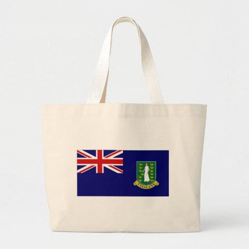 British Virgin Islands Flag Canvas Bags