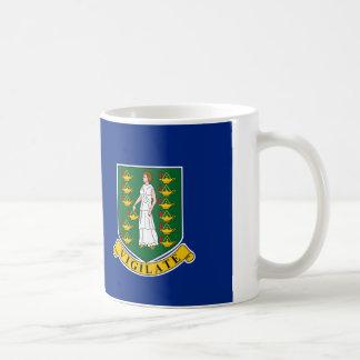 British Virgin Islands Flag Basic White Mug