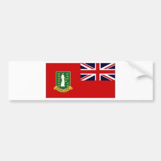 British Virgin Islands Flag Bumper Sticker