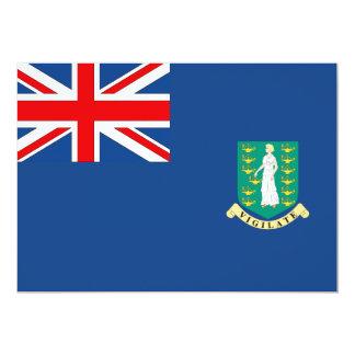 British Virgin Islands Flag Card