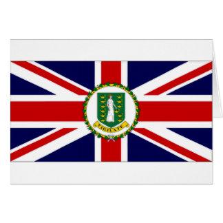 British Virgin Islands Flag Cards