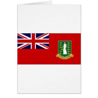 British Virgin Islands Flag Greeting Cards
