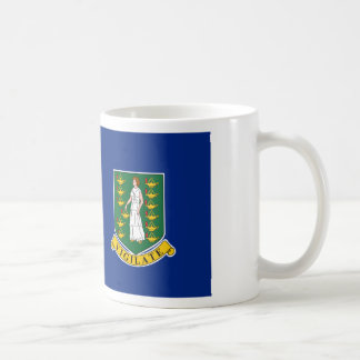 British Virgin Islands Flag Coffee Mug